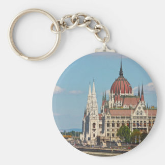 Budapest, the building of the Parliament Key Chain