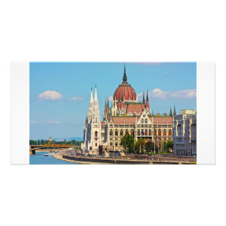 Budapest, the building of the Parliament Photo Greeting Card