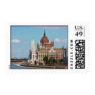 Budapest, the building of the Parliament Stamps