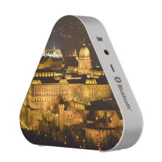 Budapest, The Royal Palace (Buda Castle) at night Bluetooth Speaker