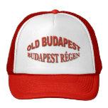 Budapest vieja gorras de camionero