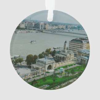Budapest view ornament