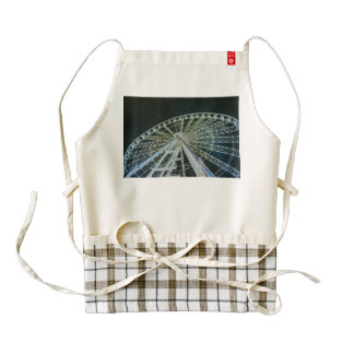 Budapest wheel zazzle HEART apron