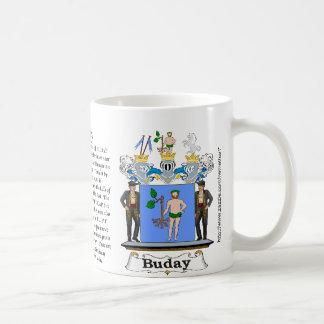 Buday Family Hungarian Coat of Arm mug