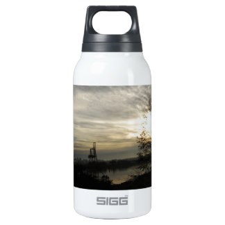 Budd Inlet Olympia WA - Winter  Morning 10 Oz Insulated SIGG Thermos Water Bottle