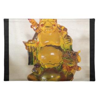 Budda coloreado de oro mantel