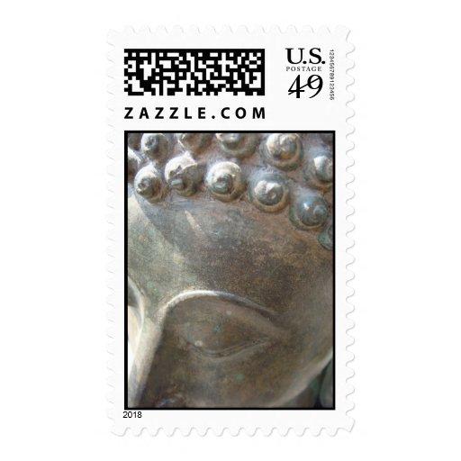 Budda en naturaleza sellos