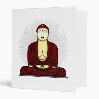 Budda Gautama Buddha Siddhartha Gautama 3 Ring Binder