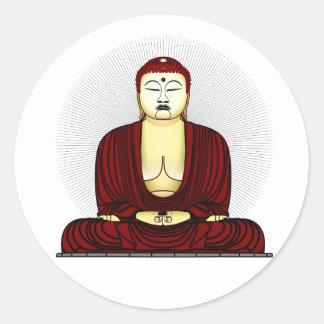 Budda Gautama Buddha Siddhartha Gautama Classic Round Sticker