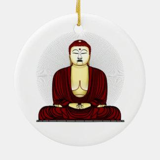 Budda Gautama Buddha Siddhartha Gautama Adorno Redondo De Cerámica