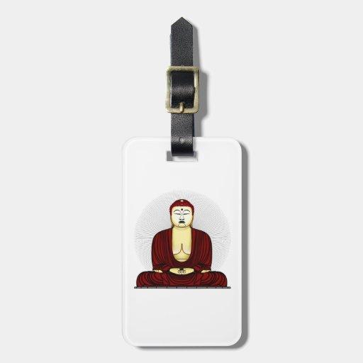 Budda Gautama Buddha Siddhartha Gautama Tags For Luggage