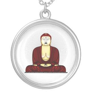 Budda Gautama Buddha Siddhartha Gautama Silver Plated Necklace