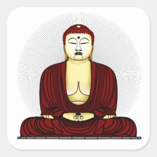 Budda Gautama Buddha Siddhartha Gautama Square Sticker