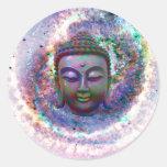 Budda Pegatinas Redondas
