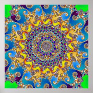 'Budda Sun' Poster
