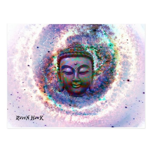 Budda Tarjeta Postal
