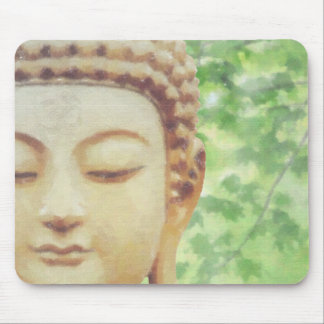 Buddah and Om Mouse Pad