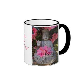 Buddah Beneath Azaleas Mug
