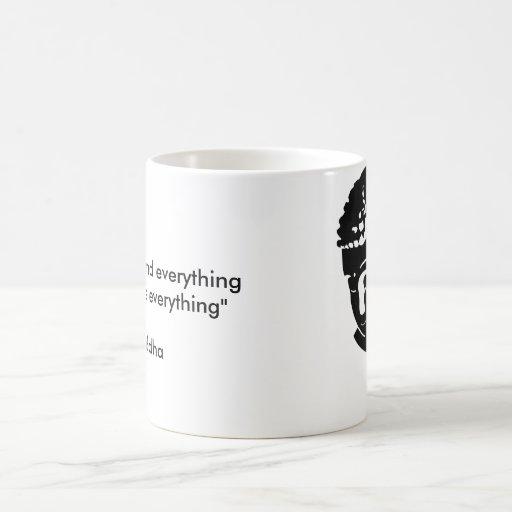 Buddah Classic White Coffee Mug