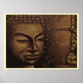 Buddah de la impresión/del poster del ~ de la paz