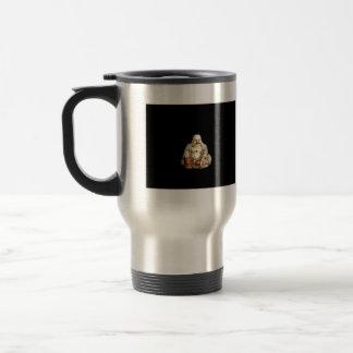 Buddah de risa taza de café