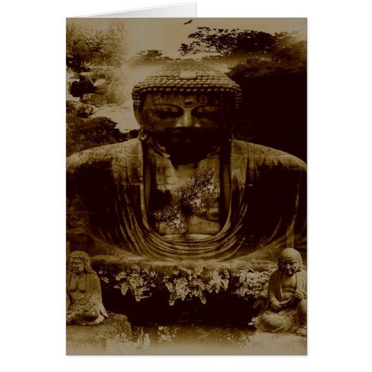 BUDDAH GARDEN CARD