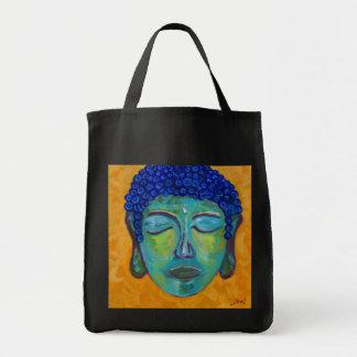 buddah grocery tote bag