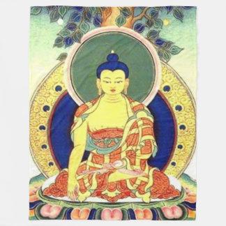 BUDDAH PRAYER Fleece Blanket