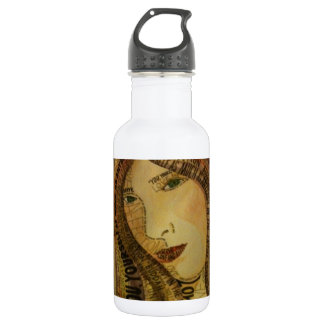 Buddah quote stainless steel water bottle
