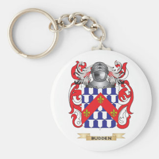 Budden Coat of Arms (Family Crest) Basic Round Button Keychain