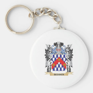 Budden Coat of Arms - Family Crest Basic Round Button Keychain