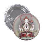 buddha 1 inch round button