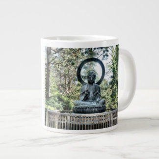 Buddha 20 Oz Large Ceramic Coffee Mug
