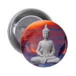 Buddha 2 Inch Round Button