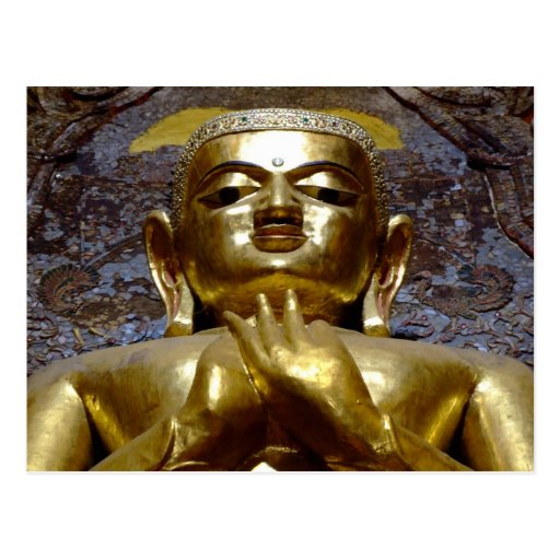 Buddha 2 postcard