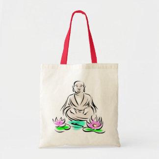 buddha 2 tote bag