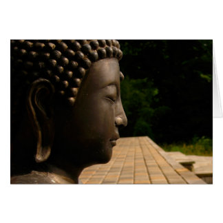 Buddha 4 greeting card