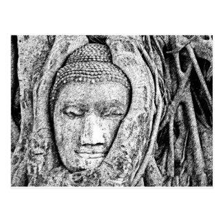 Buddha 4 postcard
