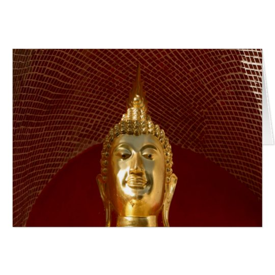 Buddha 6 ~ Thailand Peace Tranquility Serenity Card
