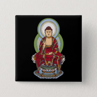 Buddha Abhaya Mudra Button