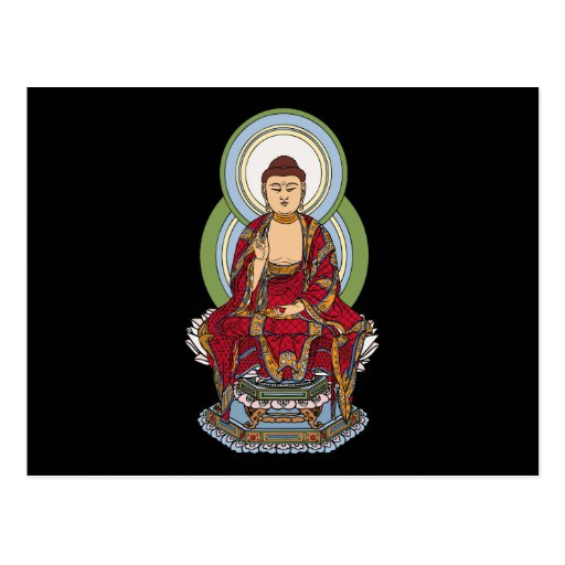 Buddha Abhaya Mudra Postcards