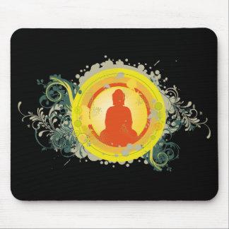 Buddha Abstract Sunset Mousepad