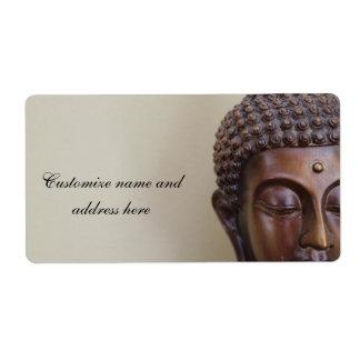 Buddha Adress Labels
