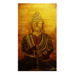 """Buddha"" after Orginalbild of Eva Borowski Business Card"