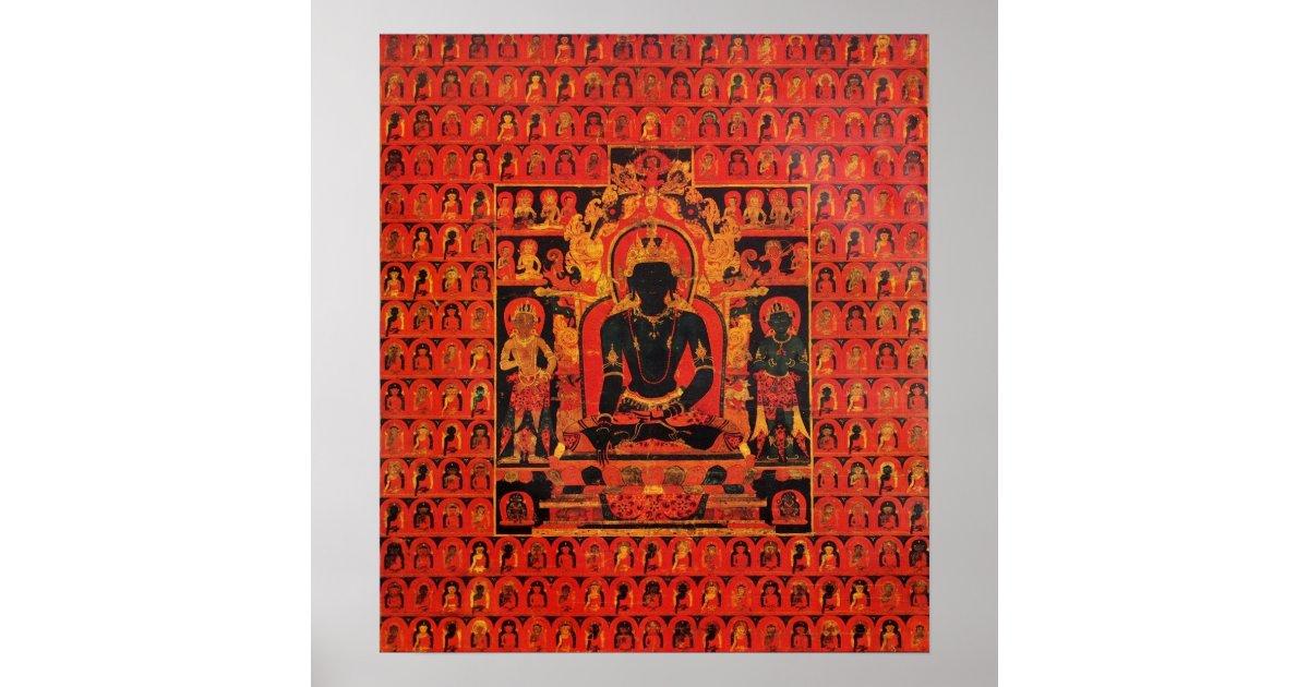Buddha Akshobhya Poster   Zazzle com