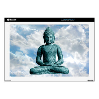 "Buddha Alone - 17"" Lap Top (Mac or PC) Skin For Laptop"