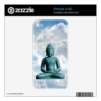 Buddha Alone - iPhone 4/4S Skin For The iPhone 4