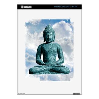 Buddha Alone - Protection Skin iPad 3 Decal