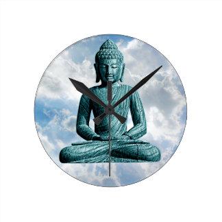 Buddha Alone - Wall Clock
