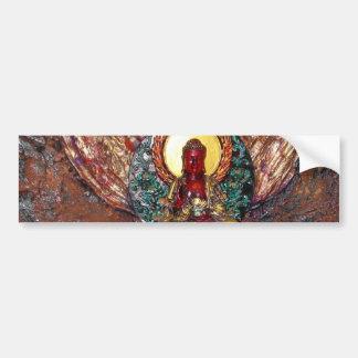 Buddha Altar Bumpsticker Bumper Sticker